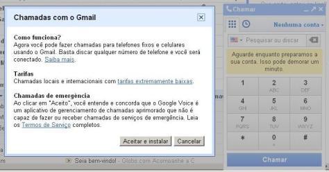 Google Voice Telefone