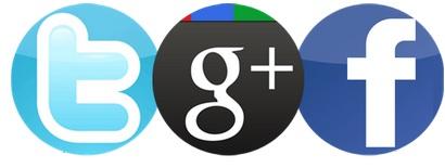 Guerra entre Twitter, Facebook e Google Plus